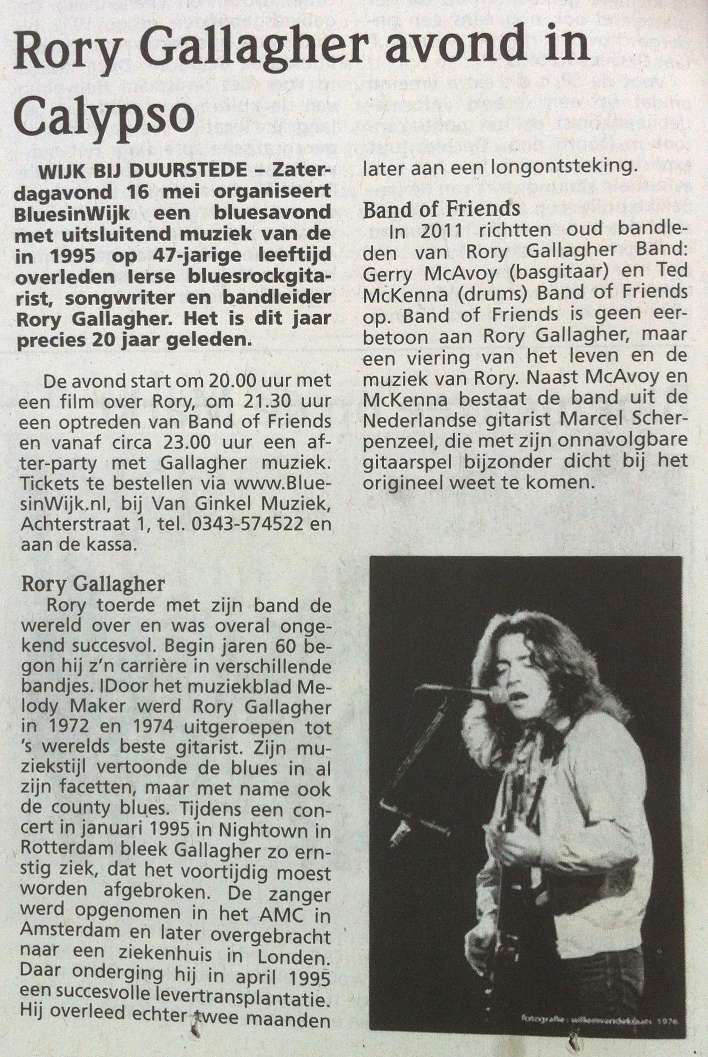 Wijks Nieuws/Groentje 5 mei 2015
